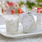 Scented Frosted glass votives