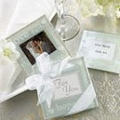 Good wishes pearlized coasters