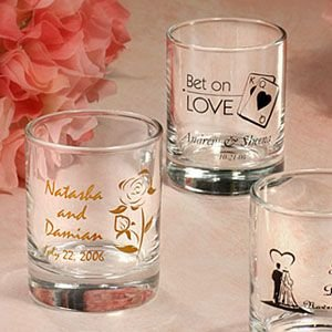 Personalized Votive Holders