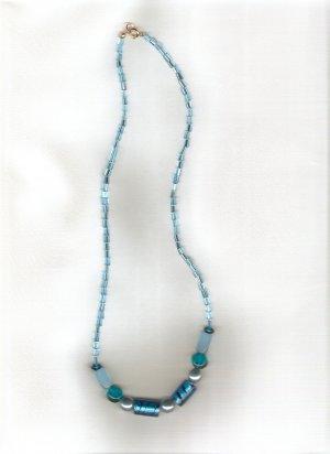 Ocean Tide Beaded Necklace