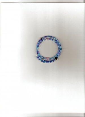 Lapis Coil Bracelet