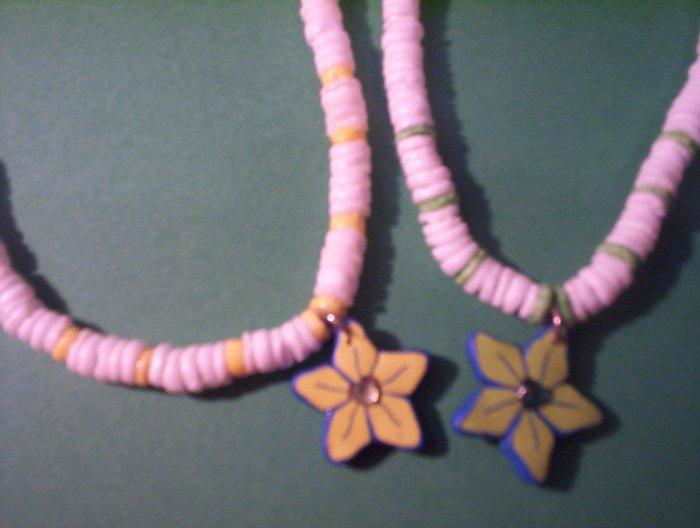 flower shells (green or yellow)
