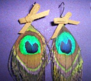 pecok feather