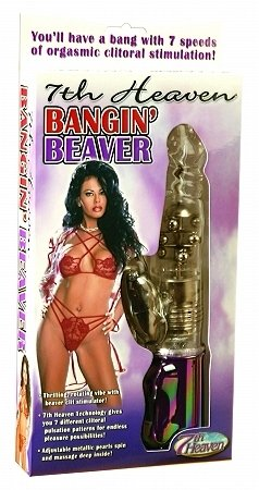 7th Heaven Bangin' Beaver Vibrator - PD1715-20