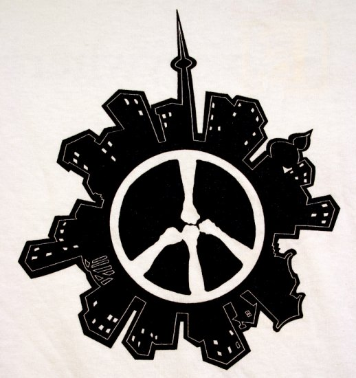 PEACE T Shirt White