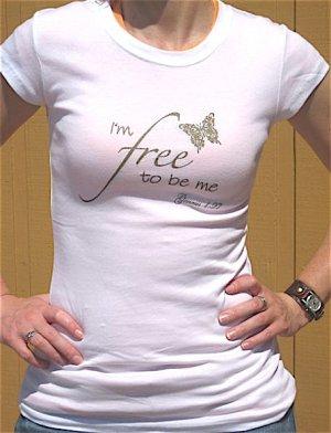 I'm Free Tee - White