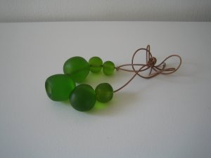 Macy Necklace - Green