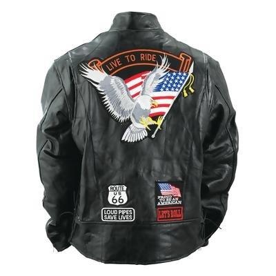 Buffalo Leather Mens Jacket