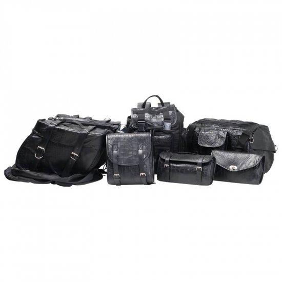 Leather Motorcycle Luggage