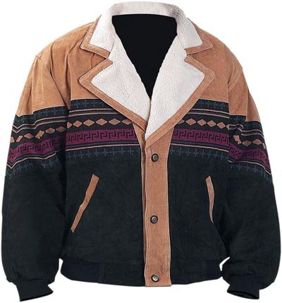 Southwestern Leather Jacket