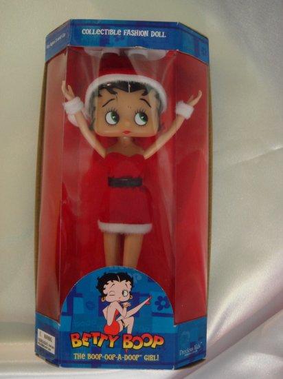 "Betty Boop Collectible Fashion Doll - 10"" Santa (31009)"