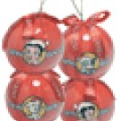 Betty Boop Ornaments set of four #10092 $34.99