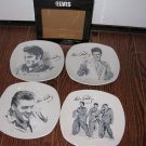 Elvis Dessert Plates set #EP1831 $34.99