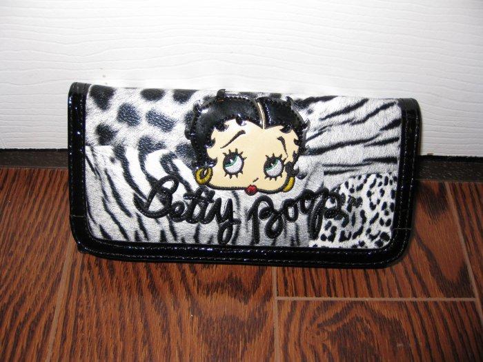 Betty Boop Wallet #T05BBLW Black $29.99