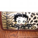 Betty Boop Wallet #T-05BBLW (Brown) $29.99