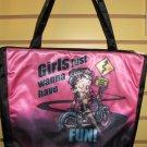 Betty Boop Biker  Tote Bag #15637 $36.99