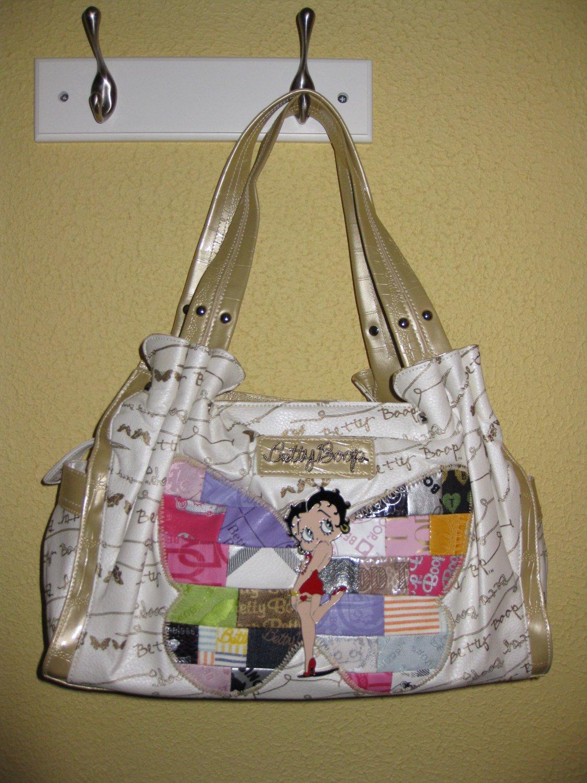 Betty Boop HandBag #BB266-1114B White $59.99
