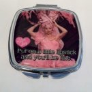 "I love Lucy ""Put on a little lipstick and you'll be fine"" compact $19.99 #15335"
