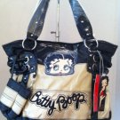Betty Boop Black and taupe handbag $49.99 #BB302-1336