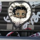 Betty Boop Wallet Dark Grey $29.99 #BB206PW-2406