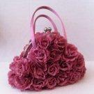 Floral Cluster evening bag $49.99 #ev1p (pink), ev1b (beige)