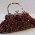 lightbrown (burgundy velvet) Evening Bag $49.99 #EV6