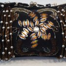 Black beaded evening bag $49.99 #EV28