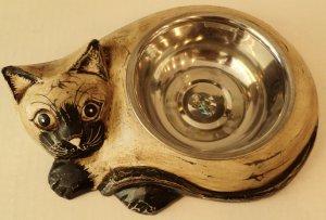 Small Cat Dish $29.99 #23903w