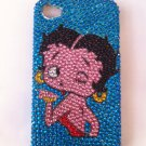 Betty Boop Teal snap on iphone 4G/4S case Reg. $20.00 Sale: $16.99 #BNV