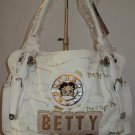 Large White Betty Boop Handbag $59.99 #BB342-1368