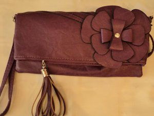 Long Flower Clutch $24.99,Purple#BG20-921-B