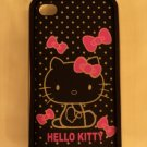 Hello Kitty black glow in the dark iphone case.  Fits both 4 and 4S.$13.99 #B108-02