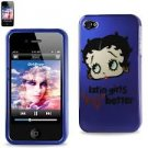 "Betty Boop ""Latin Girls kiss better"" iphone 4/4S case $13.99 #B14"