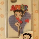 "Betty Boop ""amor"" Holographic iphone 4G/4S case $20.00 #B17BK"