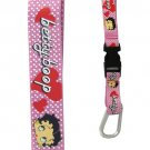Pink Polka Dot Screen Print Nylon Lanyard $8.99 #pinkBB8154