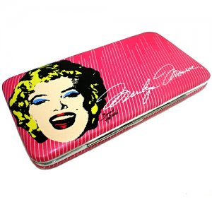 Marilyn Monroe Hard Case Vinyl Wallet $19.99 #MM1506