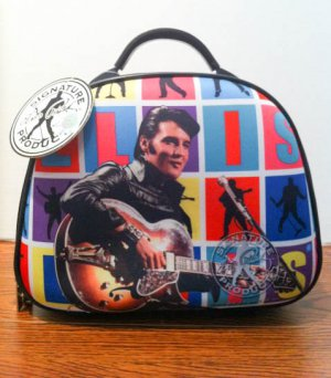 Elvis hard carry on cosmetic case $59.99#EP68-2