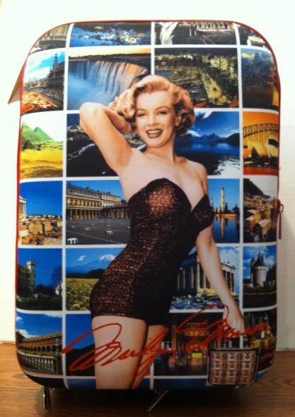 Marilyn Monroe hard luggage bag *SALE* $99.99 #MM-01
