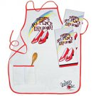 """There's no place like home"" Apron $29.99 *SALE* $21.95 #16477"