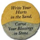 """Write your hurts in the sand..."" $24.99 #12936"