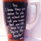 Teacher travel mug $19.99 #12833