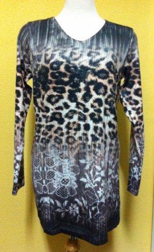 Cheetah/floral print sweater $69.99 #69.99
