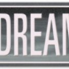 "James Dean ""BLVD of Dreams"" long metal sign $29.99#5000"