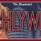 "Marilyn Monroe""HLYWD"" Licence Plate $14.99 #12071"