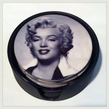 Marilyn Monroe Ceramic Coaster set of 4 $16.99 #23-029