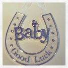 """Good Luck Baby!"" wall charm $14.99#V20-087"
