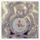 Crystal outlined bear picture frame $16.99 #SE8834