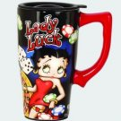 "Betty Boop ""Lady Luck"" Ceramic Travel Mug $19.99 #12898"