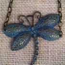 Metal, Blue dragonfly bracelet $19.99 #131B392BL