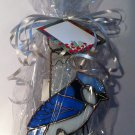 Stained Glass Blue Jay Tea Light Holder $16.99 #G846